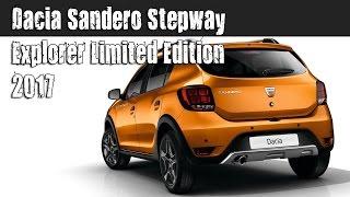 New 2017 Dacia Sandero Stepway Explorer Limited Edition