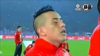 Ceremonia de premiación Copa América Chile 2015 pi
