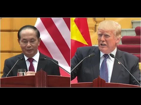 BREAKING Vietnamese President Quang catches President Donald Trump by Surprise at Press Conference