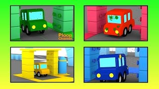 Cartoon Cars - CAR WASH PAINTBALL - Cars Cartoons for Children - Childrens Animation Videos for kids