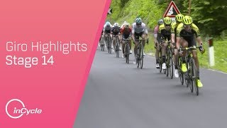 Giro d'Italia 2018   Stage 14 Highlights   inCycle