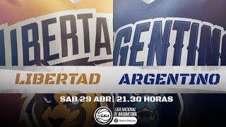 Liga Nacional: Libertad vs. Argentino | #LaLigaEnTyC