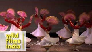 Fantastic Korean fan dance