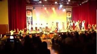 Shaimak instructors perform