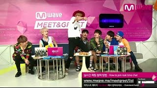 GOT7's 'Sexy Dance' and Mark's Aegyo, 'Just Right'! [MEET&GREET]