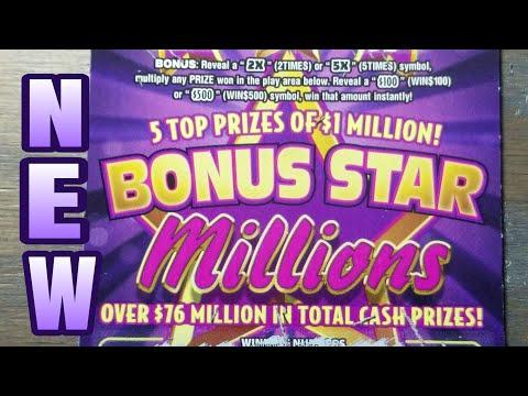Xxx Mp4 NEW 20 Bonus Star Millions Pa Lottery Scratch Tickets 3gp Sex