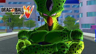 Dragon Ball Xenoverse MOD : CELL IMPERFECTO ! (FORMA 1 Y 2 ) VS ANDROIDES N 17 N 18 ! OS ABSORBERE
