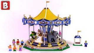 LEGO Creator Carousel Set 10257 Review + Custom Built Bear Seat!
