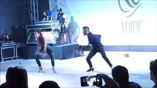Mher and Ghinwa lebanon dance Fusion Abu Dhabi Salsa Festival 2018