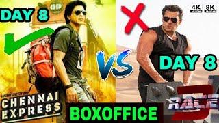 BOXOFFICE COLLECTION Race 3 vs Chennai express, Shahrukh Khan vs Salman Khan, Race 3 Collection