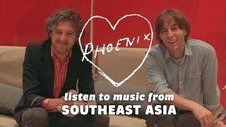 Thomas Mars & Christian Mazzalai of Phoenix react to Southeast Asian music: Bandwagon Taste-Test