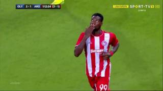 Brown Ideye Red Hot : Goal scorer celebration europa cup