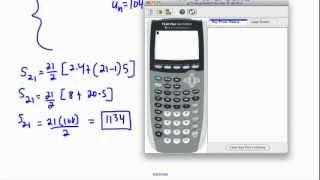 Arithmetic series - (IB Math, GCSE, A level, AP)