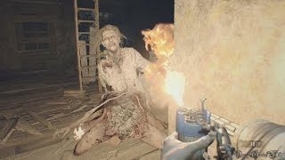 【PS4】RESIDENT EVIL 7: BIOHAZARD - #6 旧館②・BOSS 変異マーガレット戦(100% Collectibles Normal 回復なし・4時間内クリア)