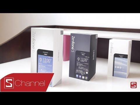 Schannel - Mở hộp ASUS Zenfone 6 - CellphoneS
