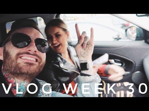 VLOG WEEK 30 - SHOOTING WITH MAC & A BUSY WEEK | JAMIE GENEVIEVE