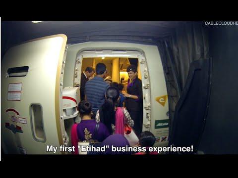 Etihad Business Class ETD253 777 300ER Dhaka to Abu Dhabi