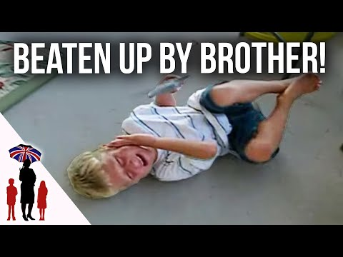 10 yr old beats up younger brothers...Supernanny USA