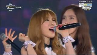 [1080p] 140814 [SNSD] Girls' Generation / Into, Mr.Taxi, Gee, Ending (2/2) M! Countdown KC