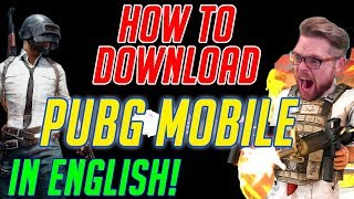 HOW TO DOWNLOAD THE PUBG MOBILE: ENGLISH VERSION OF THE GAME IN BETA