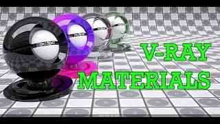 V Ray Materials