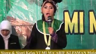 MI Ma'arif Klesman Wonosobo pidato bahasa arab terbaik