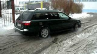 Subaru Legacy  - Zima & TIR