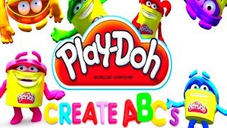 Play DOH learning videos for kids - Learn abc for kids with play doh video youtube