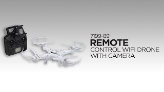 7199-89 Remote Control WiFi Drone with Camera
