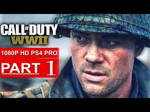 Xxx Mp4 CALL OF DUTY WW2 Gameplay Walkthrough Part 1 Campaign 1080p HD PS4 PRO No Commentary 3gp Sex
