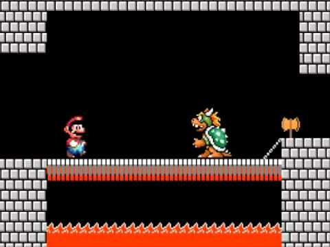 Las estupideces de mario bros Episodio 14 Mario VS. Bowser