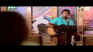 Asmani ft Tahsan Khan Nilpori Nilanjona Bangla Eid Natok 2013 Music Video