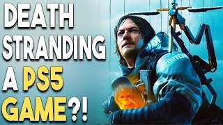 Death Stranding a PS5 Game?! FREE PS4 Game DLC!