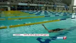 100-year-old Japanese woman Mieko Nagaoka sets her swim record