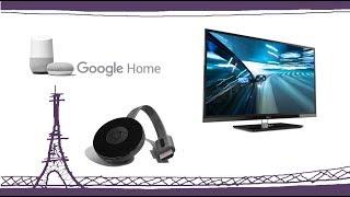 GOOGLE HOME/GOOGLE MINI: Allumer votre télévision via la Chromecast