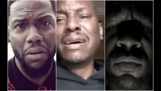Kevin Hart And Tank REACT To Tyrese Crying Create #TyreseChallenge