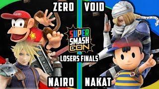 Smash Con 2017 Smash 4 - NAKAT & Void vs. Zero & Nairo -Wii U Doubles LF