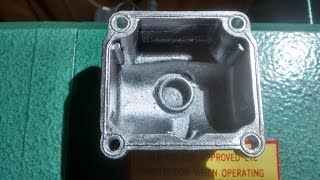 Making a Cast Aluminium Carburetor Float Bowl