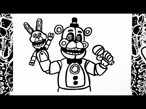 Xxx Mp4 Como Dibujar A Funtime Freddy How To Draw Funtime Freddy Five Nights At Freddy S Sister Location 3gp Sex