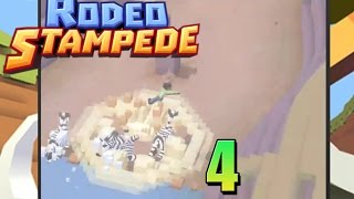 Rodeo Stampede|  Zebra Wipeout  Gameplay/commentary [4]