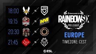 Rainbow Six Pro League - EU - Season X - Playday #6