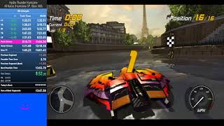 [WR with commentary] Hydro Thunder Hurricane - Hurricane GP Speedrun - 13:58.96 - BlLL THE BUTCHR