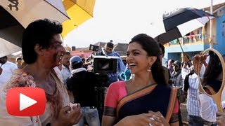 Chennai Express Last Day Shoot - Funny Video - Shahrukh Khan | Deepika Paukone