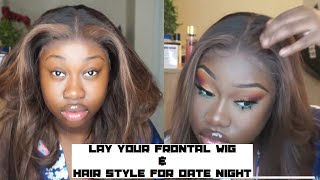 BEST WAY TO APPLY YOUR FRONTAL WIG; MELT THAT LACE SIS FT SPRING HAIR