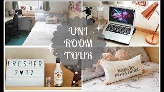 FIRST YEAR UNI ROOM TOUR | Loughborough University