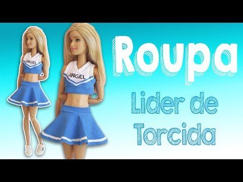Líder de Torcida | Como Fazer Roupa para Bonecas Barbie