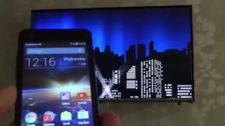 How To connect your Mobile Phone or Tablet to your TV Wirelessly using SCREEN MIRRORING