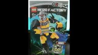 Knock-Off (Fake) LEGO Hero Factory Stuff Found on Ebay