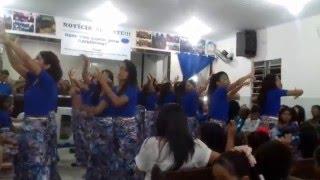 Medley sobre a volta de Jesus -  11 anos - Grupo Deje C4