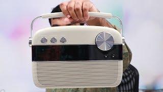 5000 songs, Radio,Bluetooth speaker, USB Support | Carvaan Saregama